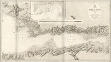 Turkey and Turkey & Asia Minor Map By British Admiralty