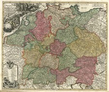 Europe, Europe, Germany, Poland and Baltic Countries Map By Johann Baptist Homann