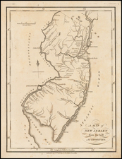 New Jersey Map By John Stockdale