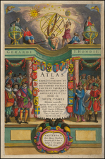 Map By Henricus Hondius