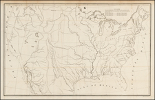United States Map By C.B. Graham