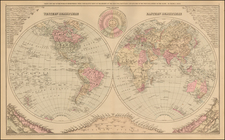 World Map By O.W. Gray