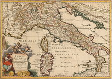 Italy Map By Francois Halma