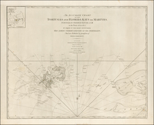Florida and Caribbean Map By William Faden / British Admiralty / George  Gauld