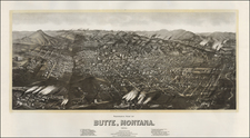 Rocky Mountains Map By Henry Wellge