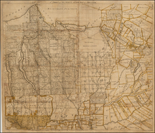 New York State Map By Simeon De Witt