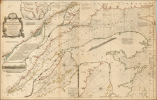 Canada Map By Thomas Jefferys