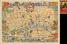 British Isles Map By John Bartholomew