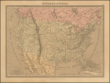 United States Map By L Turgis