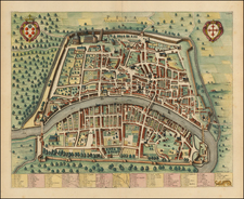 Northern Italy and Other Italian Cities Map By Johannes Blaeu