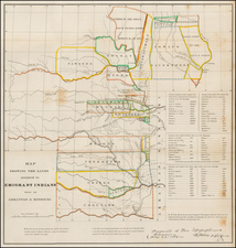 South and Plains Map By Washington Hood