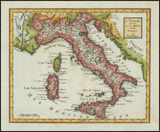 Italy Map By Citoyen Berthelon
