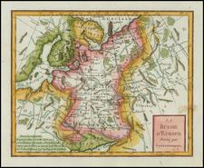 Poland, Russia and Balkans Map By Citoyen Berthelon