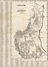 La Jolla Street Map By La Jolla Light