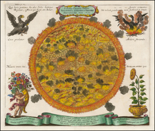 Celestial Maps Map By Johann Zahn