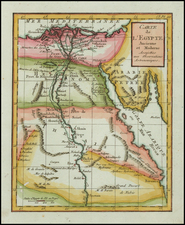 Egypt Map By Citoyen Berthelon