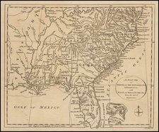 Florida, South and Southeast Map By John Lodge
