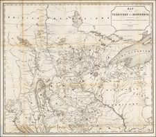 Midwest, Minnesota and Plains Map By John Pope
