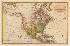 North America Map By John Lodge