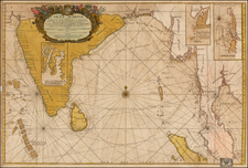 Indian Ocean, India, Southeast Asia, Other Islands and Central Asia & Caucasus Map By Jean-Baptiste Nolin