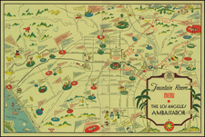 California Map By Arthur Justin (Jud) Wright