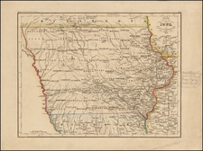 Midwest and Iowa Map By Joseph Meyer