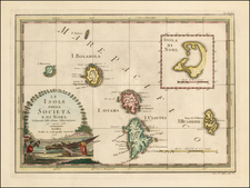 Other Pacific Islands Map By Giovanni Maria Cassini
