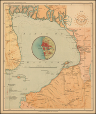 Philippines Map By U.S. Coast & Geodetic Survey