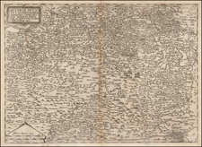 Austria Map By Cornelis de Jode