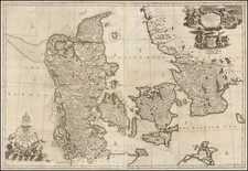 Scandinavia and Denmark Map By John Senex