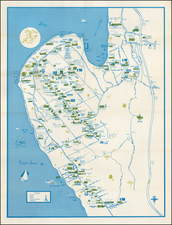 """California Map By Priscilla """"Pat"""" DeVore"""