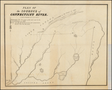 New England Map By T. Moore's Lithography