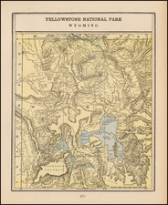 Rocky Mountains Map By George F. Cram