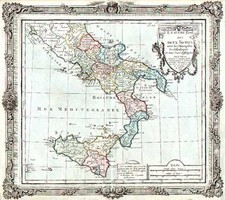 Europe and Italy Map By Louis Brion de la Tour