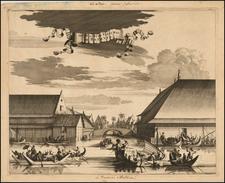 Southeast Asia Map By Johan Nieuhof