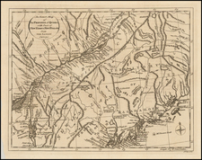 New England, Maine and Canada Map By John Lodge
