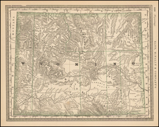 Plains and Rocky Mountains Map By Rand McNally & Company