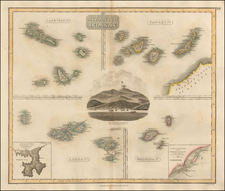 Atlantic Ocean Map By John Thomson