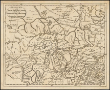 Midwest, Plains and Canada Map By John Lodge