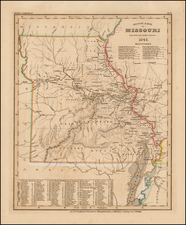 Midwest, Plains and Missouri Map By Joseph Meyer