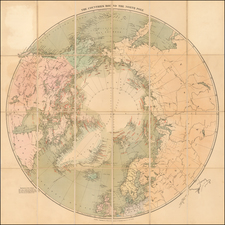 Polar Maps Map By Edward Stanford