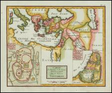 Holy Land Map By Citoyen Berthelon