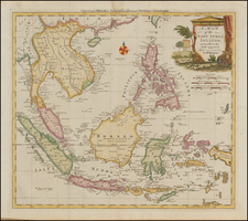 A Map of the East India Islands, agreeable to the most approved Maps and Charts . . .  By Thomas Kitchin