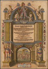 Title Pages Map By Theodor De Bry