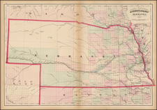 Plains and Nebraska Map By Asher  &  Adams
