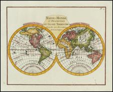 World and World Map By Citoyen Berthelon