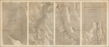 Southwest, Arizona, New Mexico and California Map By Joseph C. Ives