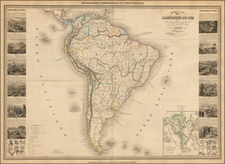 South America Map By Alexandre Vuillemin