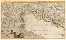 Balkans, Italy and Northern Italy Map By Pieter Mortier