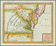 Mid-Atlantic and Southeast Map By Citoyen Berthelon